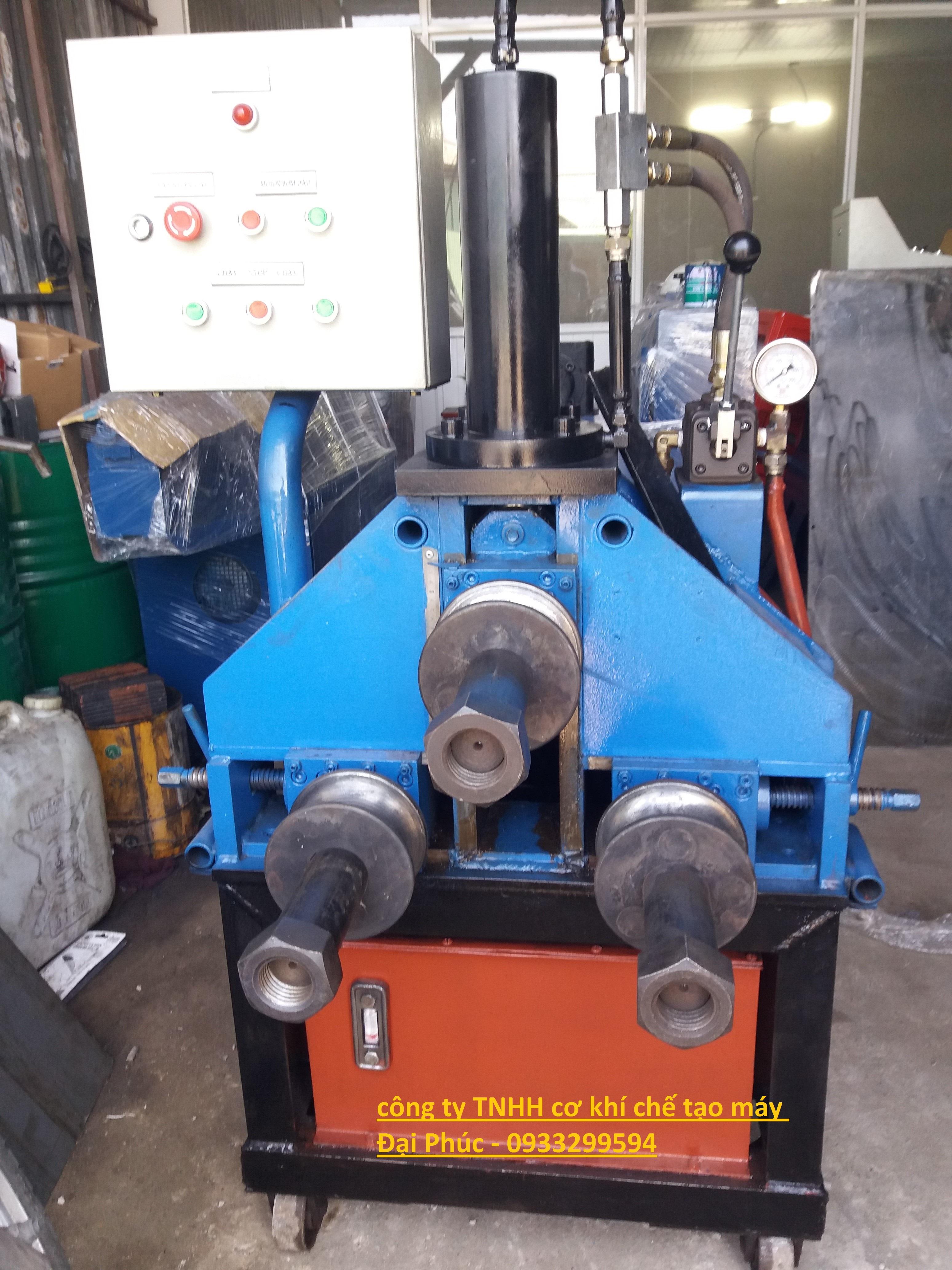 máy uốn ống chuẩn bị bàn giao cho khách