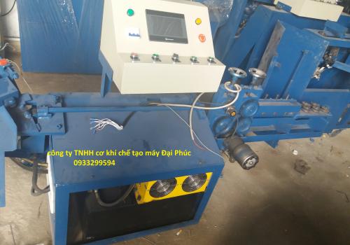 Cấu tạo máy bẻ đai sắt tự động