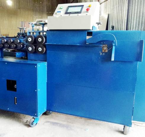 máy bẻ đai sắt loại đứng thường (máy bẻ đai tự động)