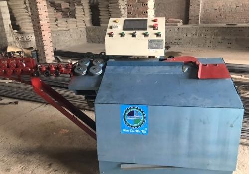 Máy bẻ đai sắt tích hợp giao về Quảng Ninh