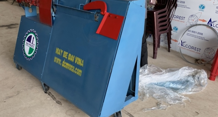Máy bẻ đai sắt bàn giao về Vũng Tàu – 0915944068