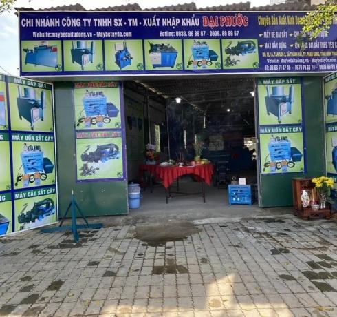 Đại Phước khai trương chi nhánh máy bẻ đai sắt tại Ninh Thuận