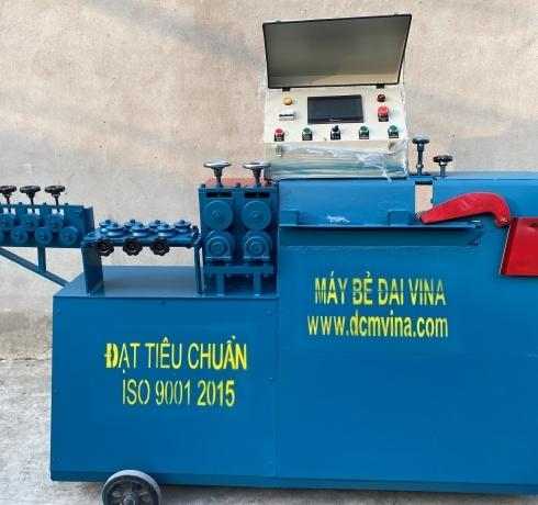 Máy bẻ đai sắt tự động đạt chuẩn ISO 9001:2015